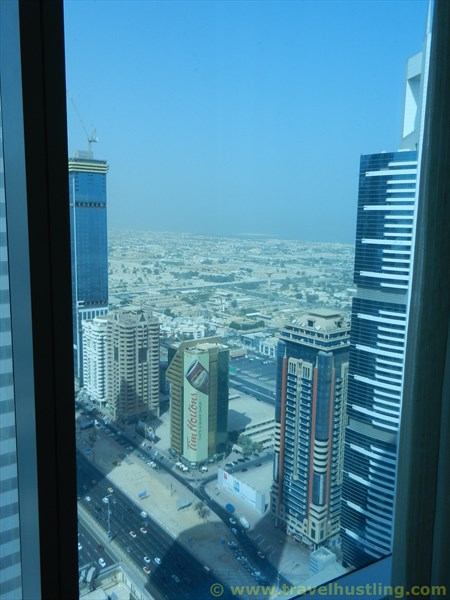 Shaikh Zayed Road from Rose Rayhaan hotel