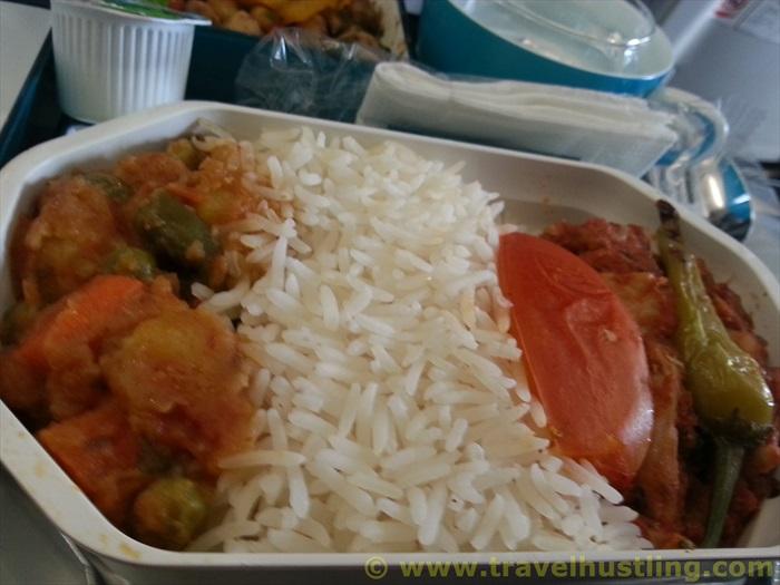 SriLankan arilines food