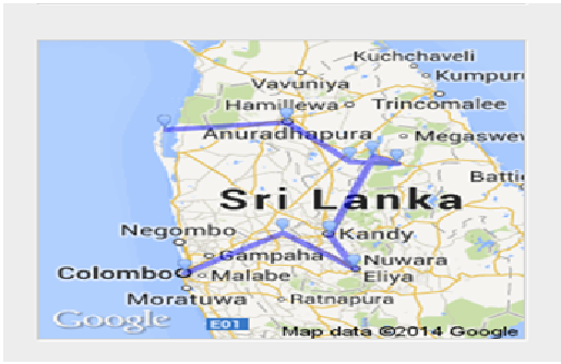 sri lanka tour plan